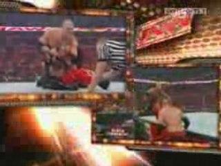 RAW 9/15/08 Rey Mysterio vs Kane