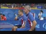 Vidéo d'un double homme handisport