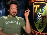 Robert Downey Jr talks about Tropic Thunder