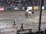 Cowboy de 10 ans tauros rodeo