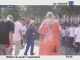 Bizutages à  Troyes à l'IUT: farine