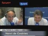 ITW de Henri de Castries (25.09.08)