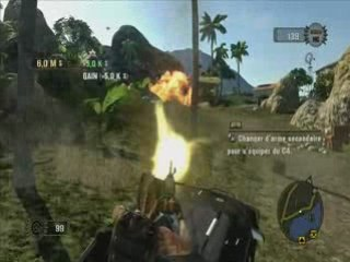 [PC] Mercenaries 2 Gameplay N°2 15 minutes