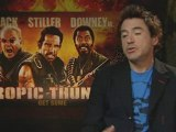We catch up with Robert Downey Jr as Tropic Thunder launches