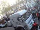 techno parade 2008 paris bastille vu de l'arret de bus 2 :)