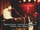 Gaspard royant last song of a pistolero live reservoir