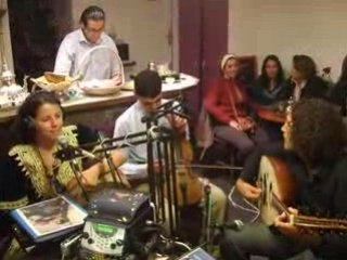 Myriam SULTAN Live Beur-FM 19/09/08 (Yaljamala-Waalache) 1/2
