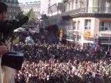 Techno Parade 2008 Depart du Char Radio FG place de l'Opera