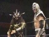 Ultimo Dragon & Jushin Liger vs Chris Sabin & Alex Shelley