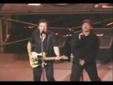 U2 Bono   Bruce Springsteen Because the night live