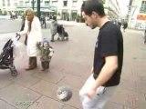 Foot : Du jonglage en pleine ville