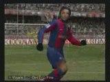 PES 2008 Ronaldinho e le sue magie, stupendo tiro sul sette!