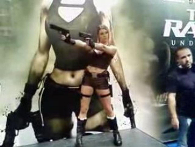 Festival du jeux vidéo - Lara Croft