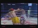 Muay Thai, Kick Boxe -( Ramon Dekkers & dj goku)-show the pe