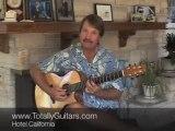 Guitar Lesson- Hotel California - The Eagles