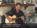Guitar Lesson- Madman Across The Water - Elton John