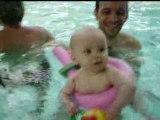 Au bébés nageurs avec mon papa, fin septembre