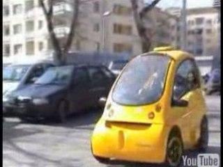 Kenguru, la voiture électrique sans permis pour handicapé.