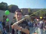 Lacher de ballon pitoyable >