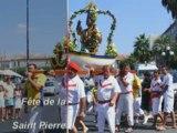 Fête St Pierre à St Raphaël le matin