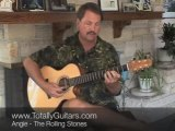 Guitar Lesson- Angie - The Rolling Stones