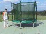 petit trampoline avec filet