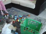 Je range mes jouets !!!