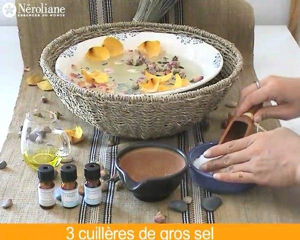 Sels de bain aux huiles Essentielle