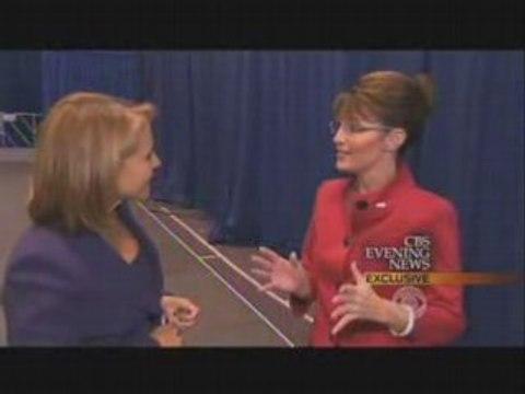 Palin incapable de citer le nom d'un journal