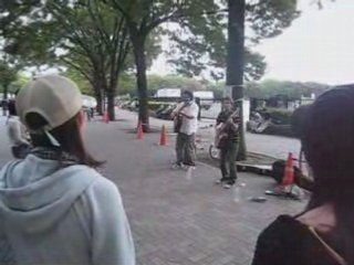 Carry Smile street's concert near of Yoyogi - Tokyo