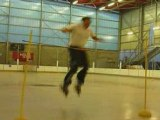 Acrosliders - Saut 1m30 roller