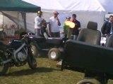La tracteur tondeuse