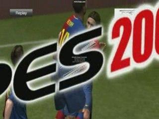 PES9 Messi Goal
