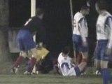 Match contre Donges / Réduction du score