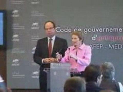 Présentation du Code de gouvernement d'entreprise