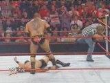 WWE RAW 06/10 Batista VS JBL n°1 contender match