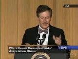 Stephen Colbert Roasting Pres. Bush