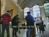 incroyable !!!! trop fort  dans la gare