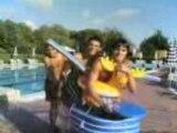 Jackass col carrello in piscina a Montecatini Terme