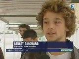 Etudiant de l'IUT GEA de Lyon sur France 3