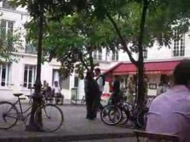 Les feuilles mortes à Paris