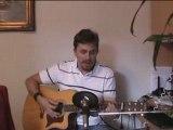 Apologize - reprise guitare acoustique par Sly