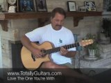 Guitar Lesson- Love The One You're With - Stephen Stills