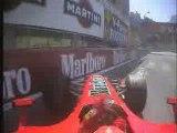 F1 Schumacher qualification onboard GP Monaco 2006