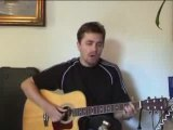 wherever you will go - reprise guitare acoustique par Sly