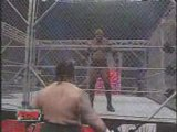 Bobby Lashley Vs Hardcore Holly Ecw Title(Steel Cage)