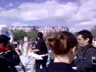 Pillow Fight Paris