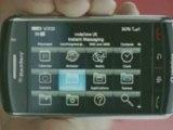 Pub pour le Blackberry Storm chez Vodafone