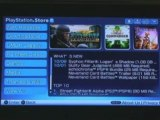 PSP Firmware 5.0 demo - PlayStation Store on PSP