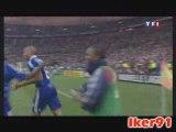 Henry 2-1 France Tunisie